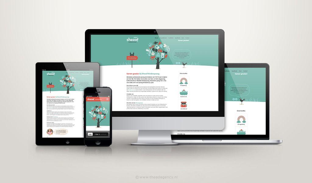 Complete huisstijl voor Shezaf Wij ontwikkelden... | Portfolio - The Ad Agency