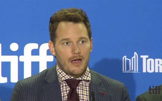 """Chris Pratt attends """"The Magnificent Seven"""" press conference during the 2016 Toronto International Film Festival at TIFF Bell Lightbox on September 8, 2016 in Toronto, Canada."""
