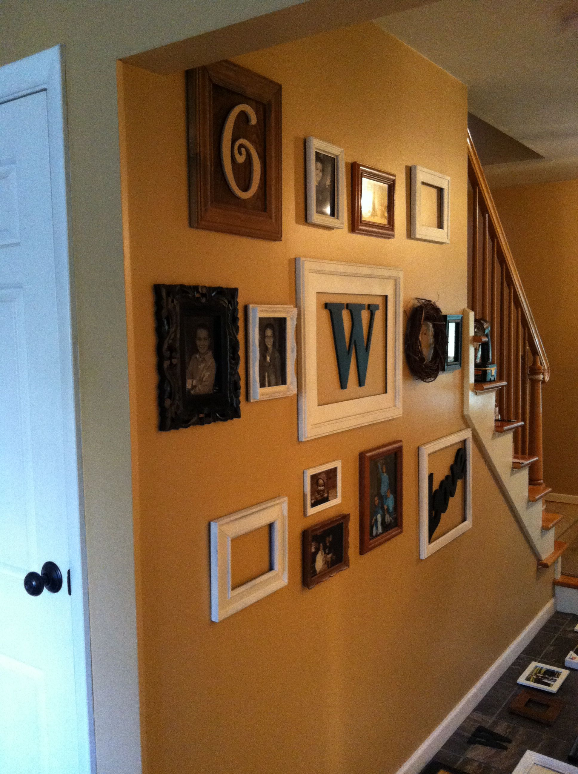 Collage wall