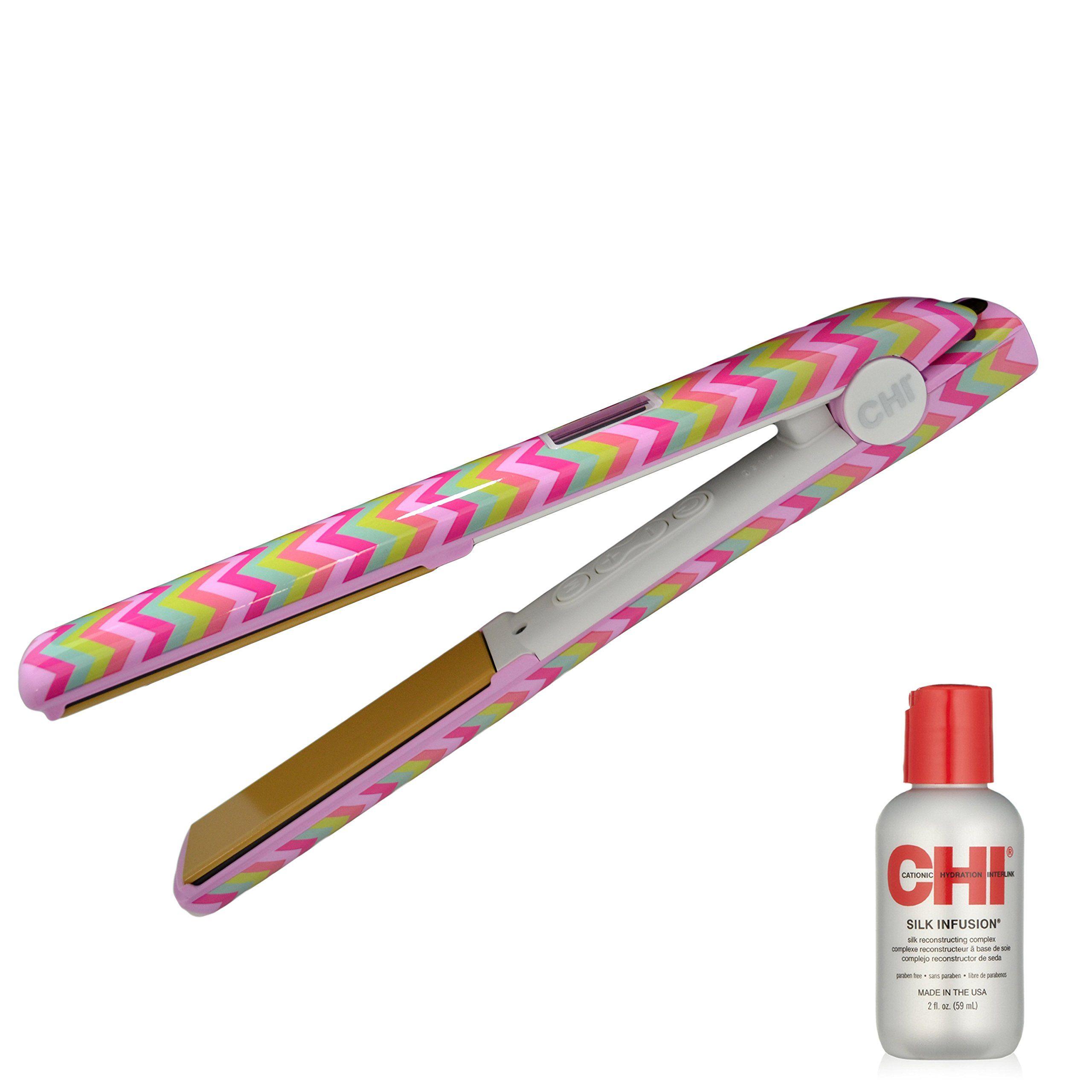 Amazon Com Chi G2 2nd Generation Hairstyling Iron Sugar Rush Beauty Ceramic Flat Iron Hair Care Tools Tourmaline Hair Straighteners