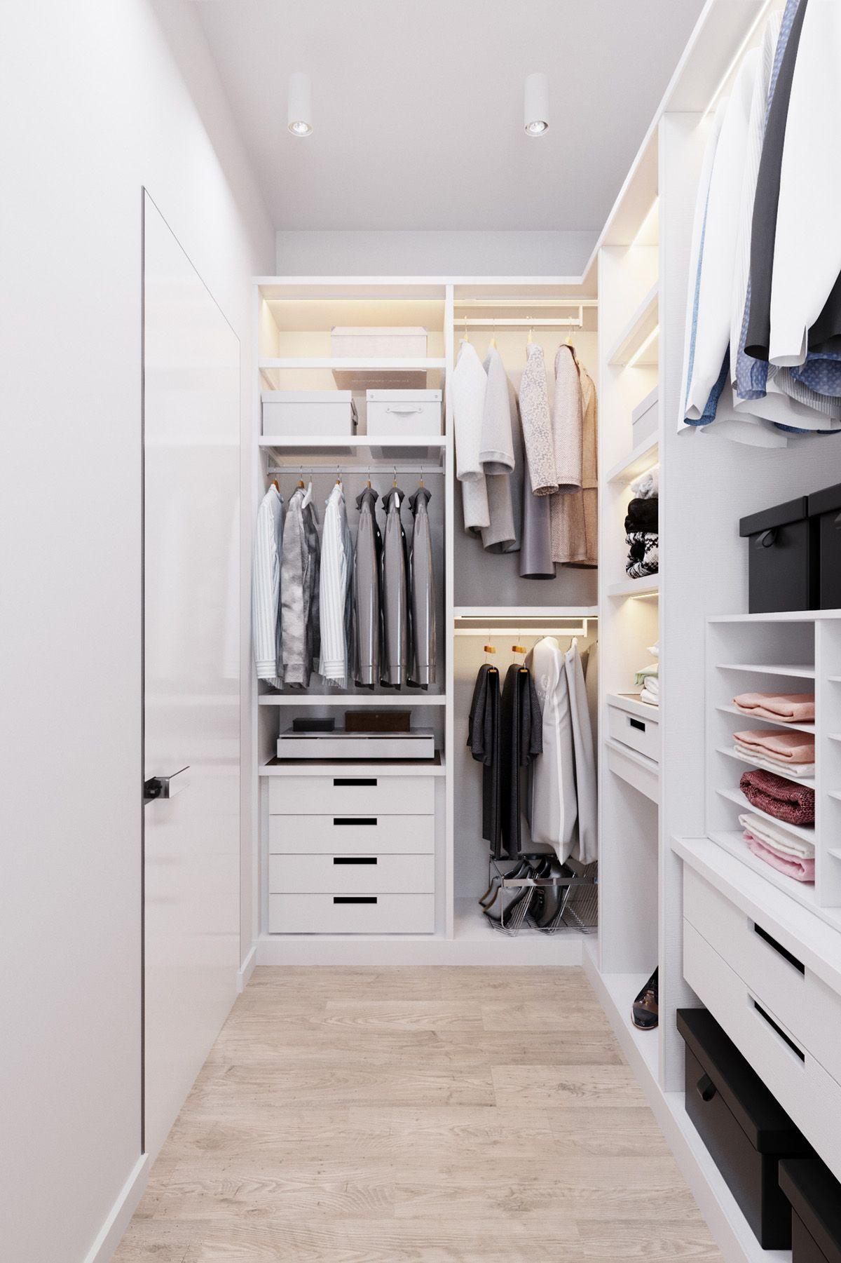 Zwei Grosse Skandinavische Hauser Fur Junge Familien Futuristischesdesign H Familien Fur Futu In 2020 Bedroom Closet Design Walk In Closet Design Closet Designs