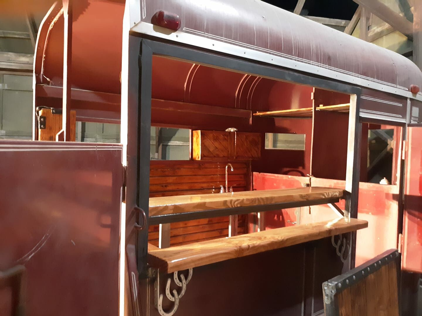 Horse trailer turned into a mobile bar we do all sorts