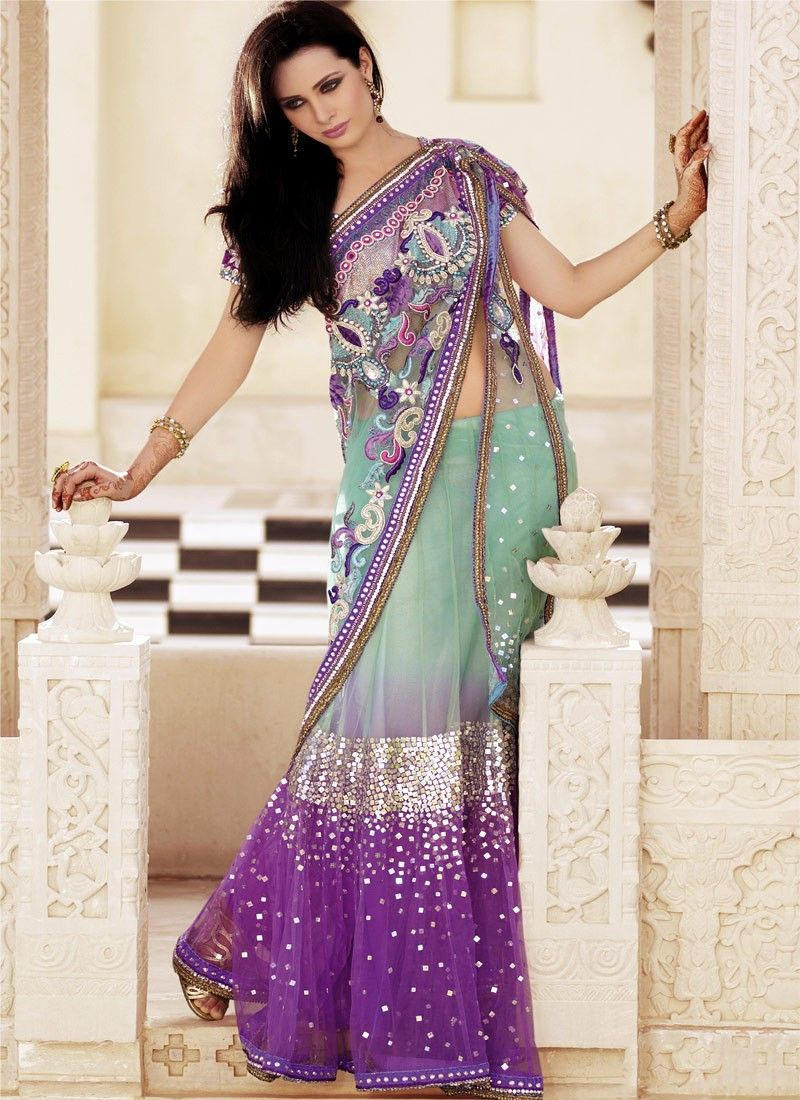Fashion and you lehenga saree 22