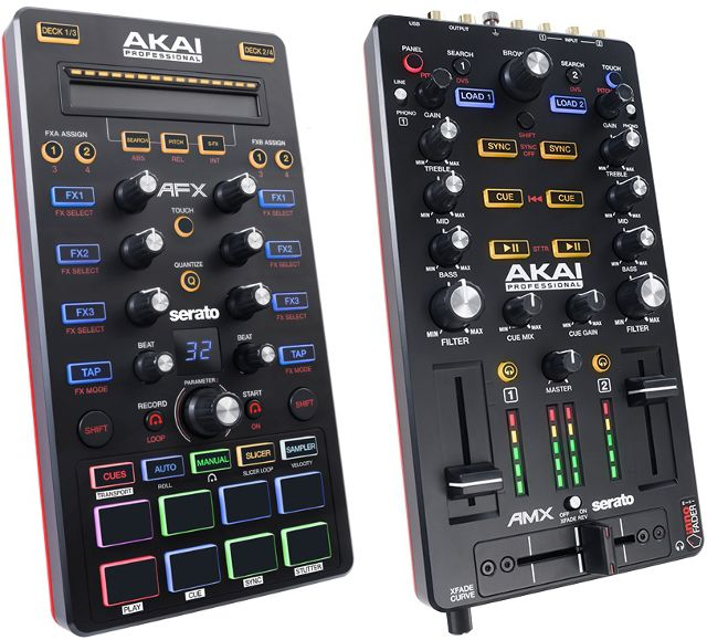 Gearjunkies.com: Akai announces the AFX and AMX controllers for Serato DJ