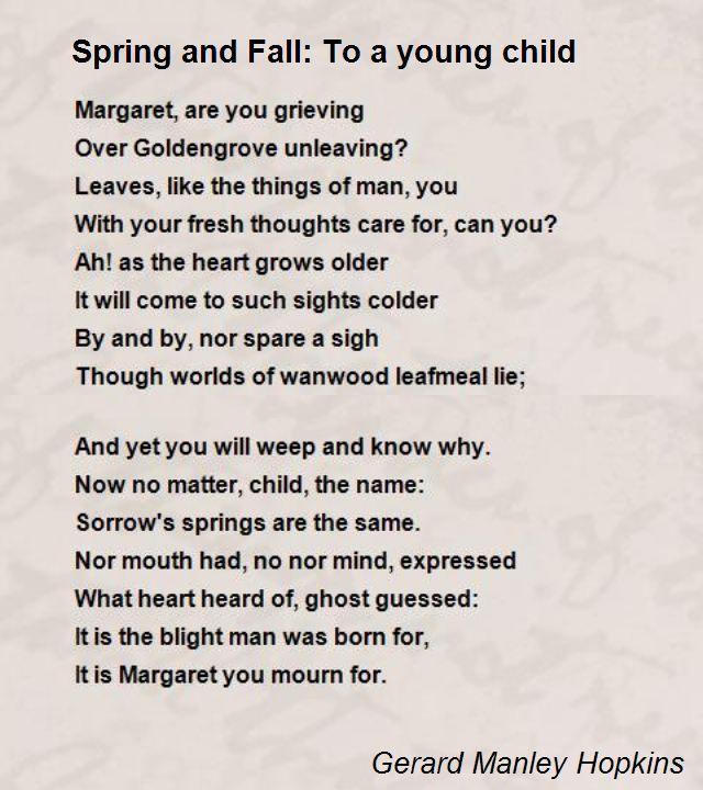 the beautiful spring poem summary