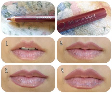 Essence Lip Liner in 06 Satin Mauve Makeup to buy, Lip