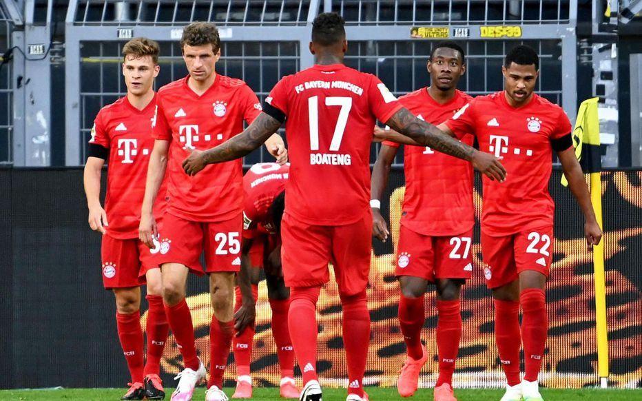تشكيلة بايرن ميونخ ضد بروسيا دورتموند في الدوري الألماني Bayern Dortmund Sports Jersey