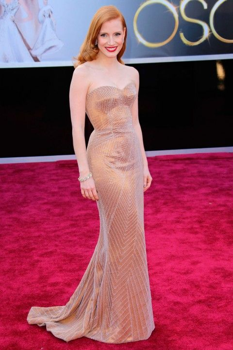 Jessica Chastain. Perfection.