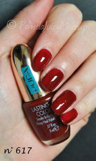 Swatch n°617 Sunset Deep Red