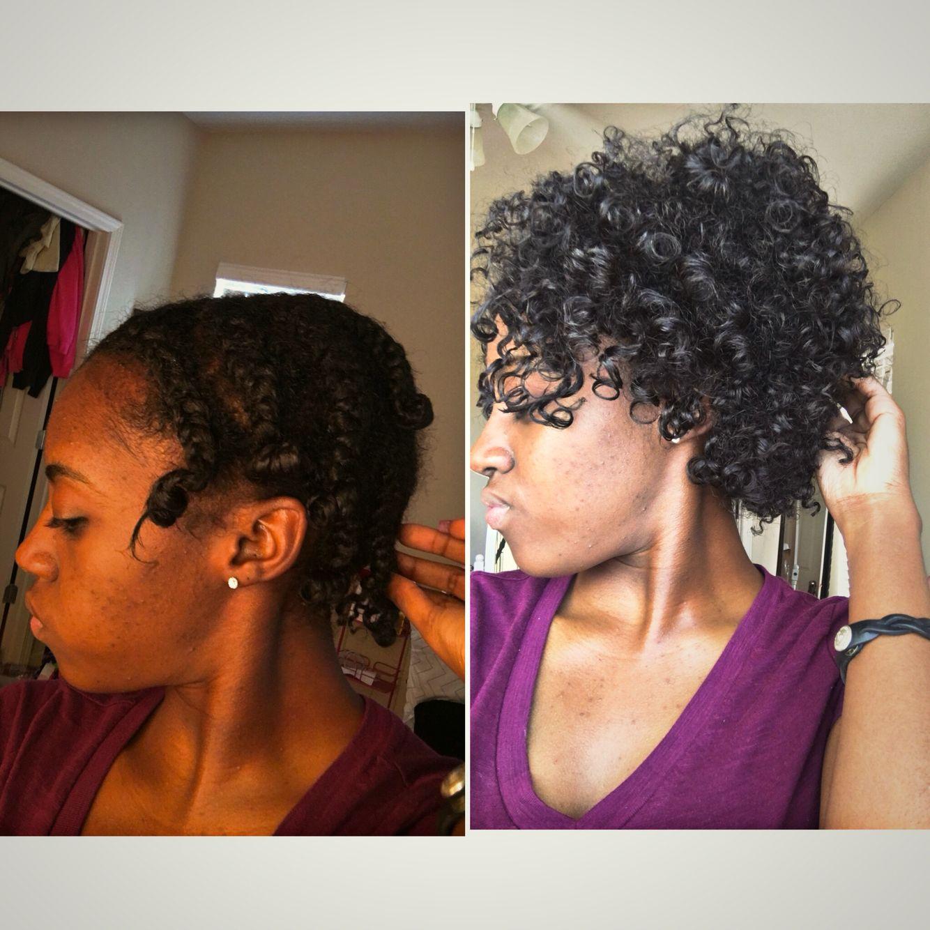 Braid u curl natural hair pinterest