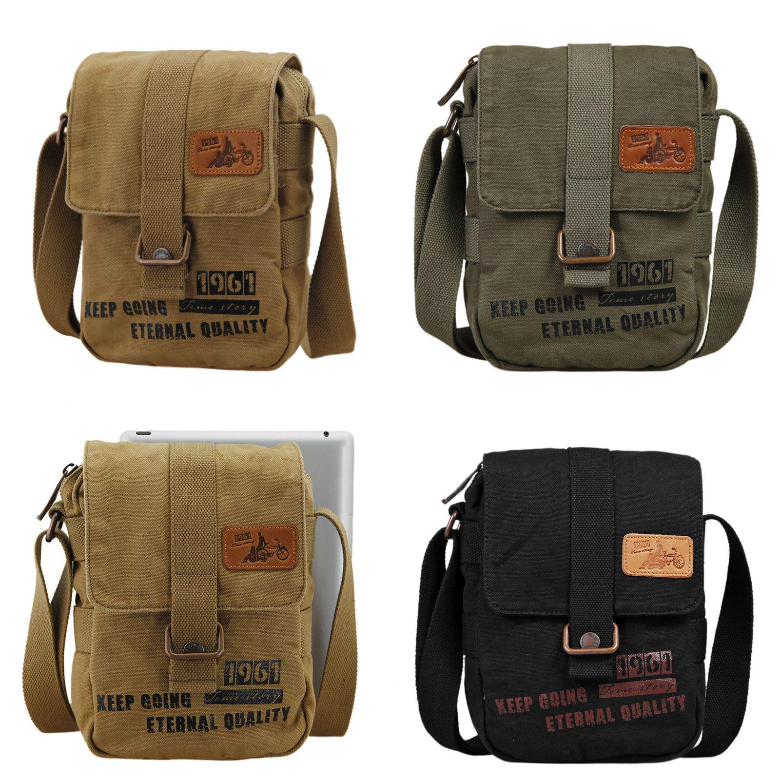 6d12f6aa56ad 26   BEST QUALITY Men s Womens Casual Canvas Messenger Shoulder Bag School  Satchel Sling Bag (GY04)  Canvas  bag  casual  vintage  fashion