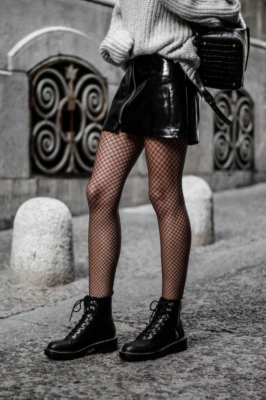 Mode Résille Bas Automne Hiver Vestimentaire Hiver Pantalon Mode Jupe Cuir x4dYdTqw