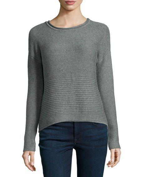 Catherine Malandrino Sweater in Heather Grey