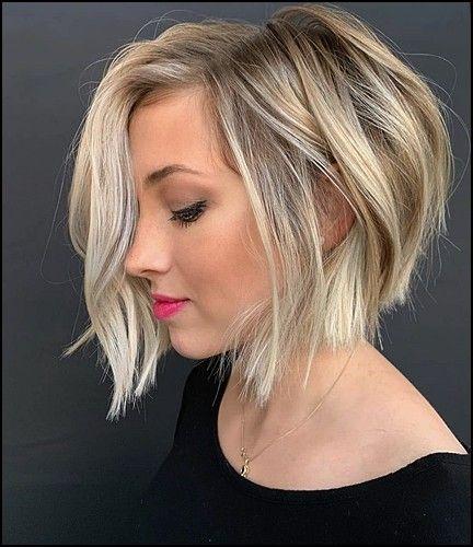 10 Trend Blonde Haarfarben Fur Frauen 2020 Trend Bob Frisuren 2019 Bob Frisur Bob Frisuren Gestuft Bob Frisur Dunnes Haar