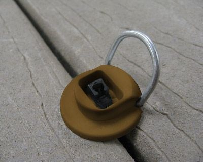 Deck Down Deck Anchors Secure Your Deck Furniture And Items To Your Deck With A Simple Slip Zip Clip Deck Furniture Deck Accessories Diy Deck Furniture