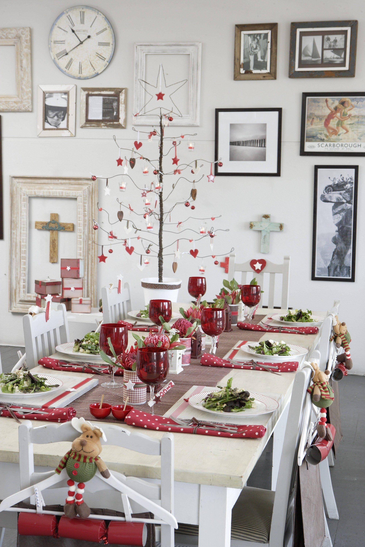 Tischdeko Weihnachten Weihnachten Pinterest Navidad Feliz