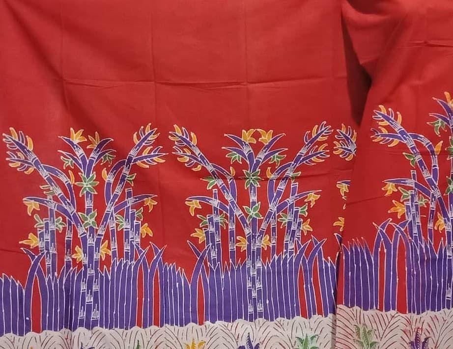 Batik Tulis Madura Kain Katun Santiu Ukuran 1 X 2 M Harga 90 Ribu