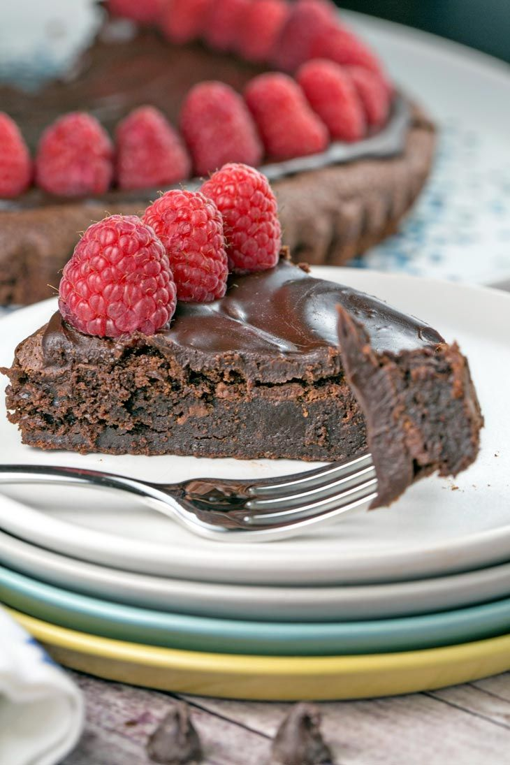 Flourless chocolate cake a rich one bowl flourless