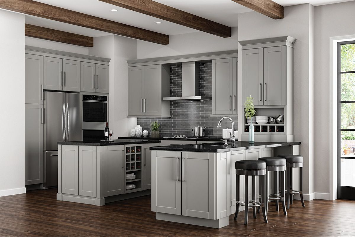 Gallery Hampton Bay Kitchen Cabinets Custom Kitchen Cabinets Grey Kitchen Designs Grey Kitchen Cabinets