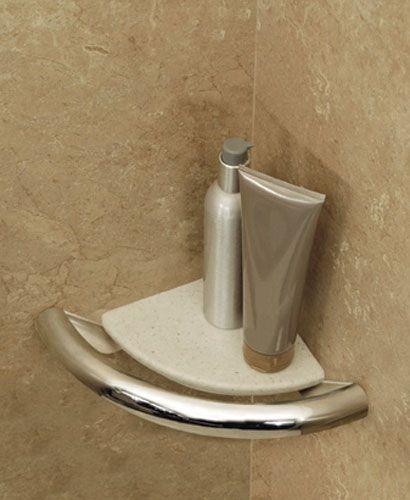 Grab Bar Soap Dish Invisia Collection By HealthCraft