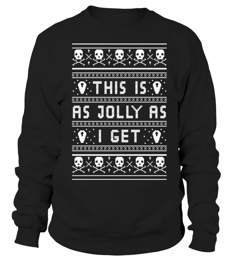 Emo Goth Ugly Christmas Sweater Funny sweater for christmas T ...