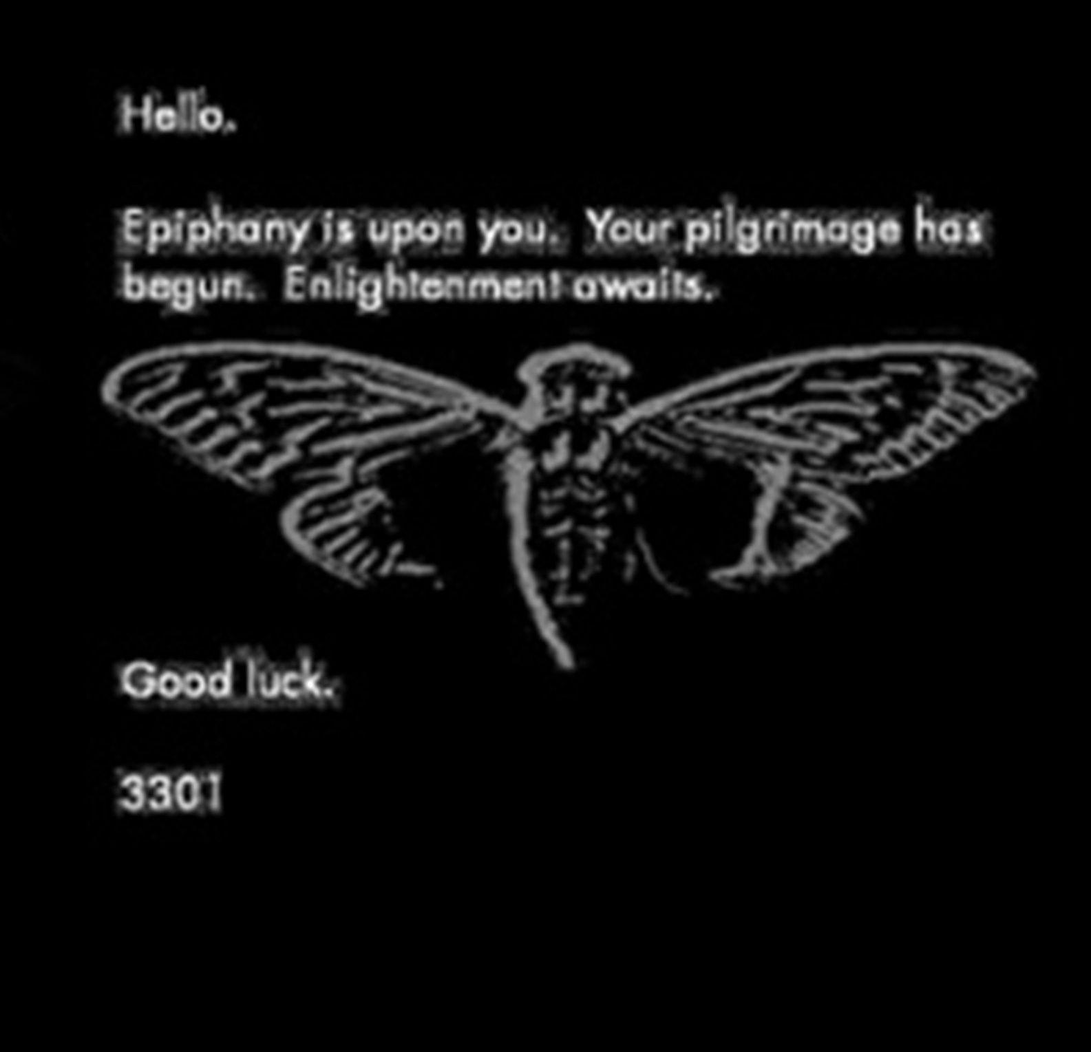 Cicada 3301 Message Men Quotes Cicada Internet Games