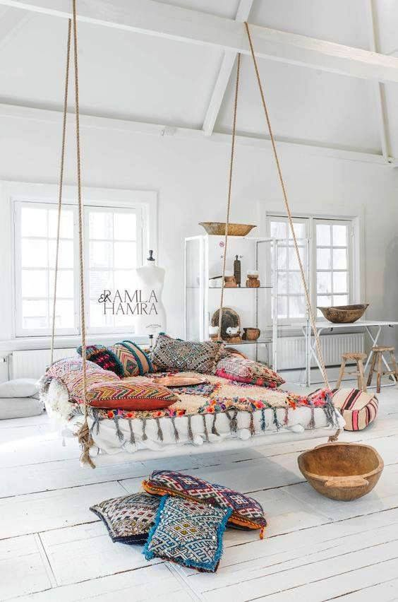 Home Decor U2013 Bedrooms : Beautiful Boucherouite Rug And Moroccan Berber  Kilim Pillows.nl (photo By Paulina Arcklin)  Read More U2013