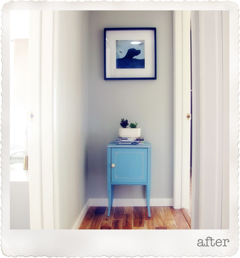 Annie Sloan Chalk Paint Table Makeover Provence Blue ...
