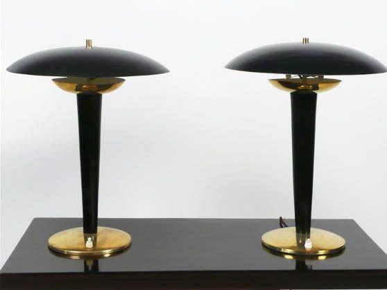Vintage Design Art Deco Neoclassico Rococo Officina Antiquaria Milano Lampade Da Tavolo Coppia Di Lampade Lampada Vintage Lampade Da Tavolo Lampade