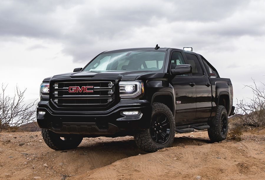 The All New 2016 Gmc Sierra All Terrain X Revealed At Houston Auto