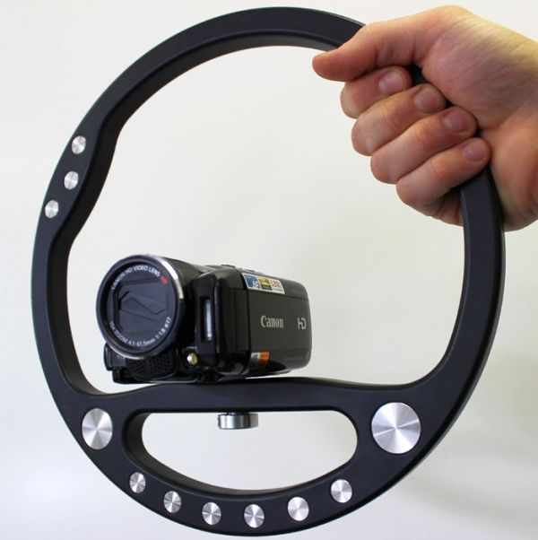 Steady Wheel camera stabilizer reduces unwanted shake ...