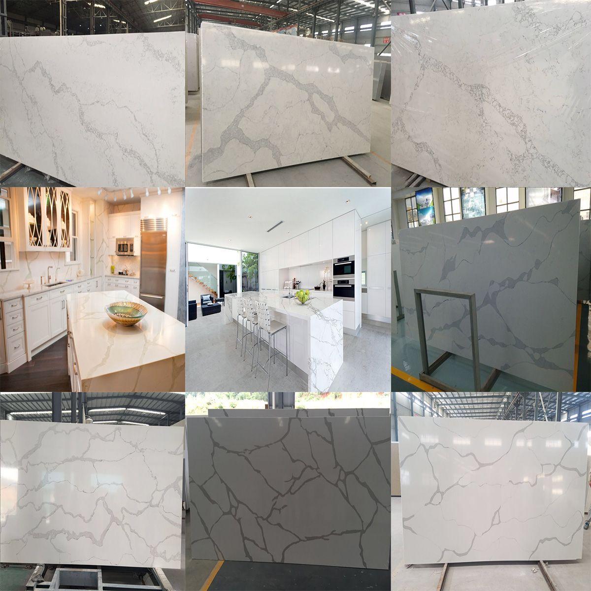 calacatta white quartz, the most beautiful marble looking quartz