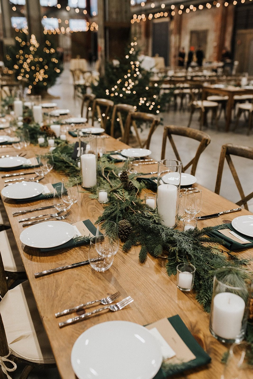 Photo of Maine Seasons Events New Year's Eve Industrial Wedding-Christen & Micah — Maine Seasons Events & Rentals