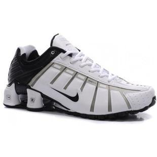 www.asneakers4u.com 429869 018 Nike Shox O Leven White Black J05027