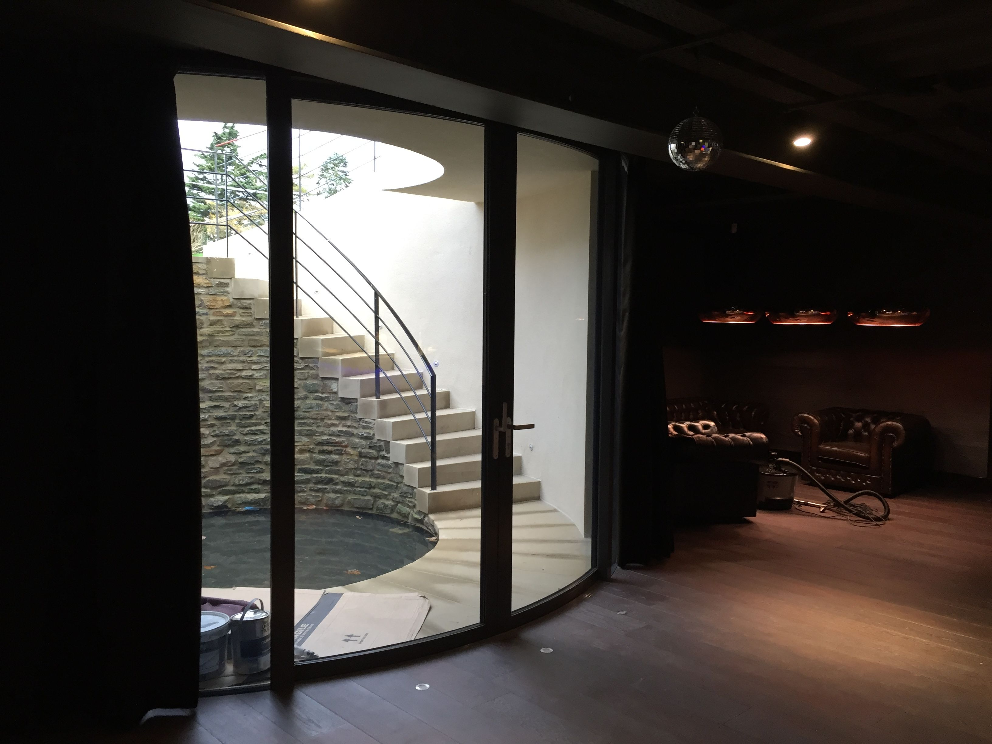 Aluminium Framed Curved Sliding Doors Curved Sliding Doors