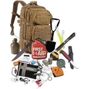 (BOB24COY) RuckUp 24 Hour Bug-Out-Bag, Coyote - Is a new product at BePreparedRoadside.com