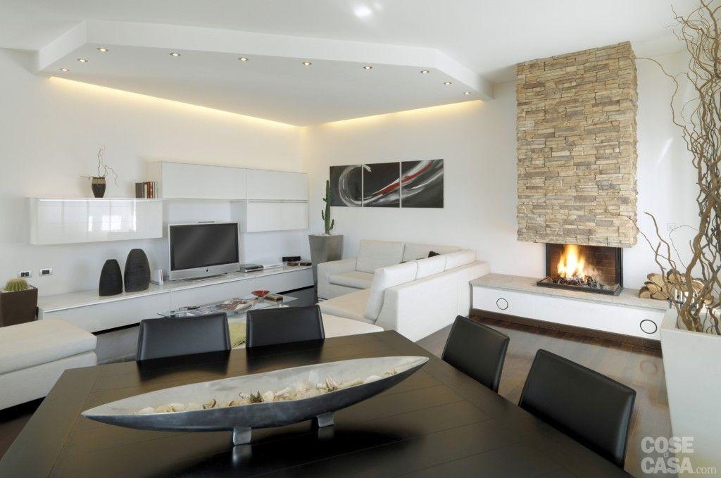 Luci soggiorno ~ Separare con il controsoffitto cose di casa arredamento