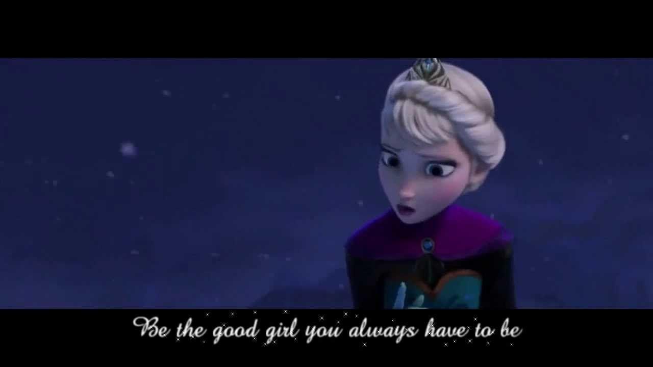 [Lyrics] Let It Go- Disney's Frozen (iDina Menzel) Sequence Performed