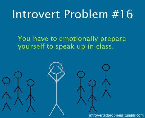 Introvert Problem #16.