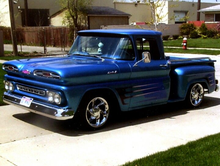 This Is My First Vehicle 1961 Chevy Apache Stepside Shortbox With
