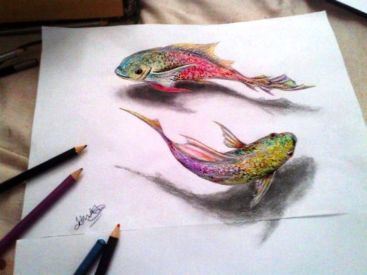 3D Animal drawing between the lines ~ easy arts and crafts