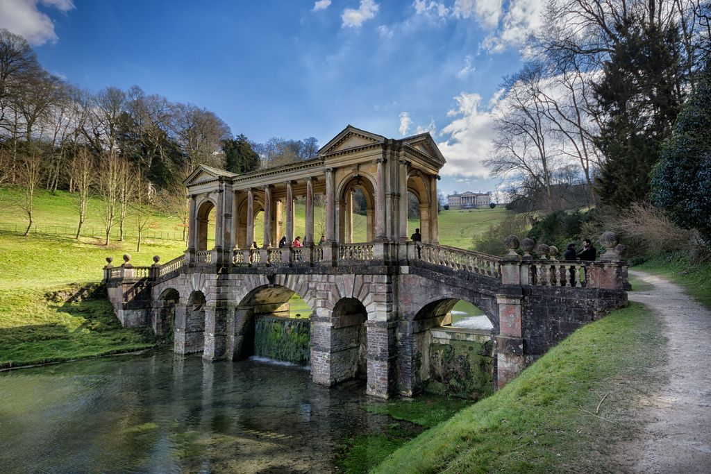 One Of Only Four Palladian Bridges Remaining In The World. Palladian Bridge,  Prior Park Design Inspirations