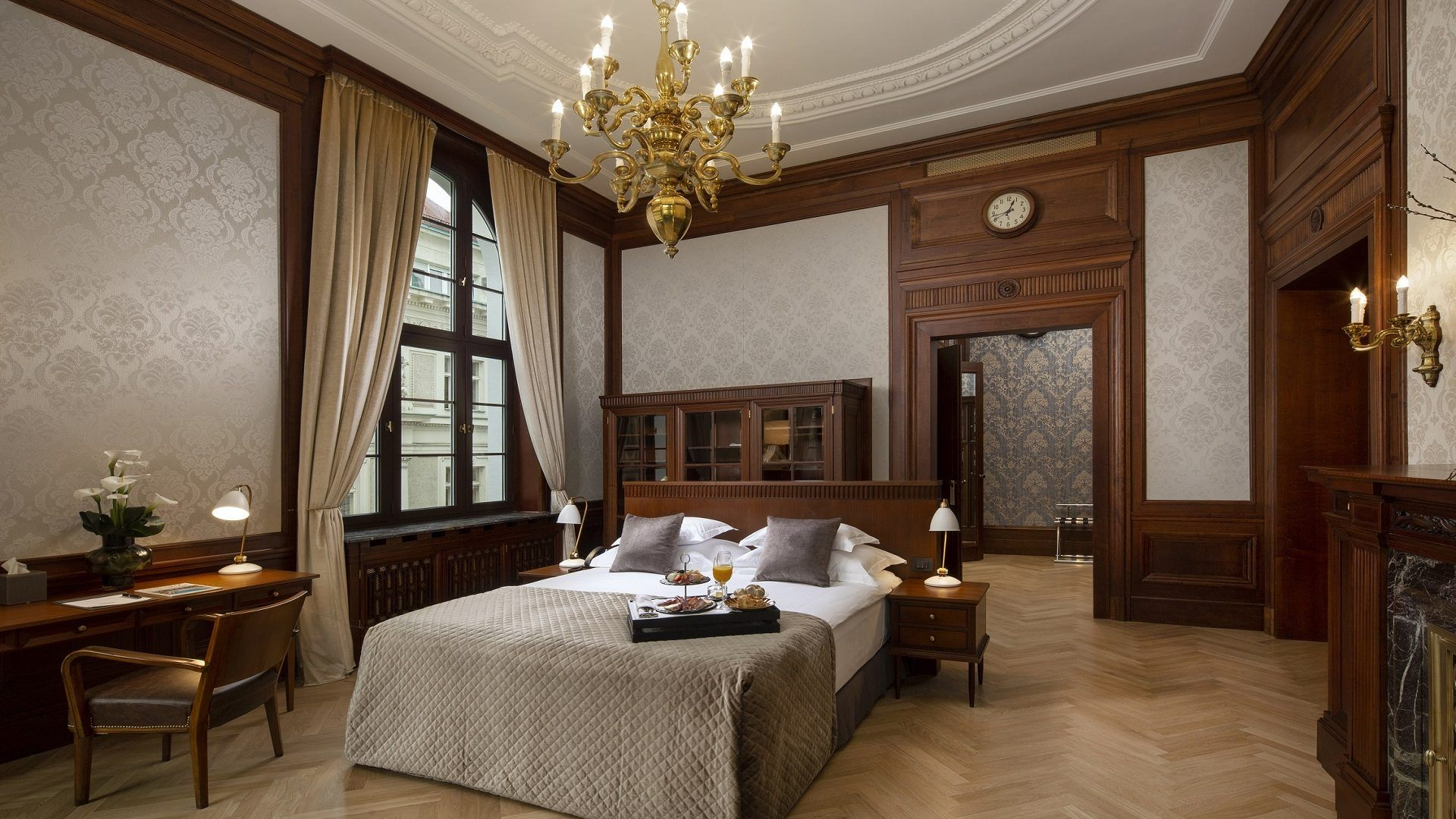 Amadria Park Zagreb Luxury Hotel Bedroom In Croatia Luxury Hotel Bedroom Hotel Heritage Hotel