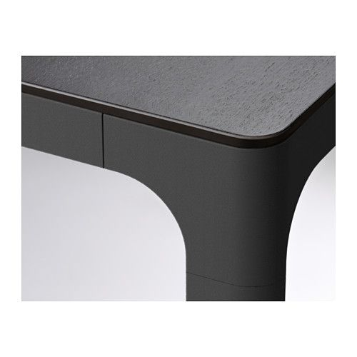 Konferenztisch Ikea bekant konferenztisch schwarzbraun schwarz ikea office