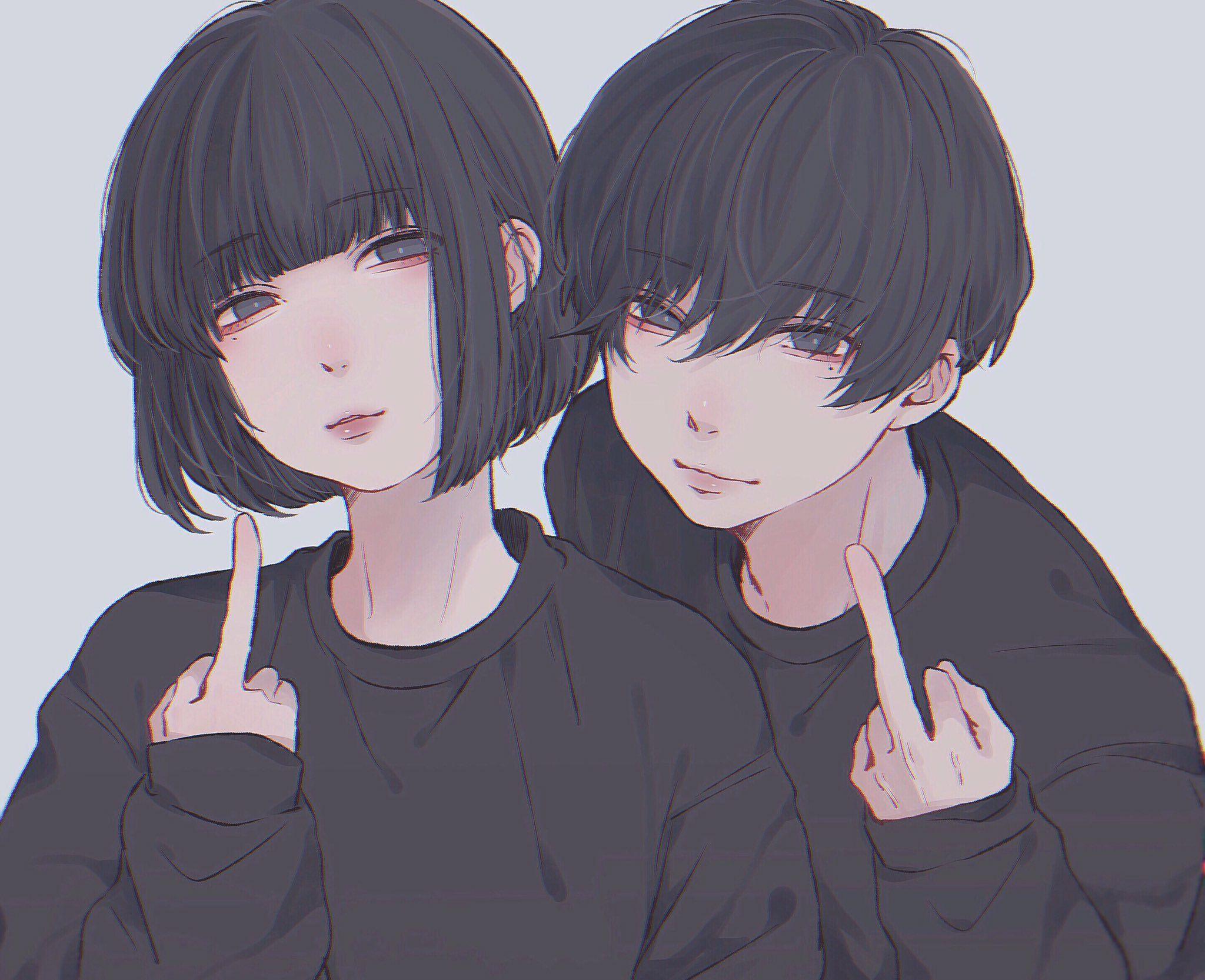 Pin De Worraps Em просто нрав Desenhos De Casais Anime