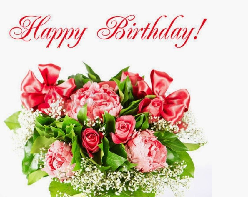 Pin By Nadine On Verjaardag Happy Birthday Flower Happy Birthday Ecard Happy Birthday Pictures Free