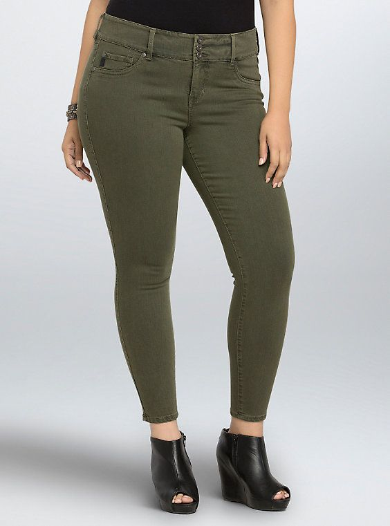 91715a46a9944 Jegging - Olive Wash (Regular) | + Clothes & Accessories | Olive ...