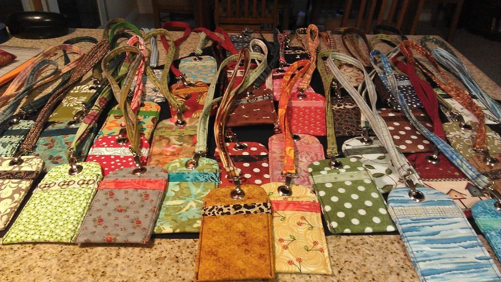 huge discount 67a5b 2f281 Cell Phone Pouch + Lanyard project on Craftsy.com | Crafty Ideas ...