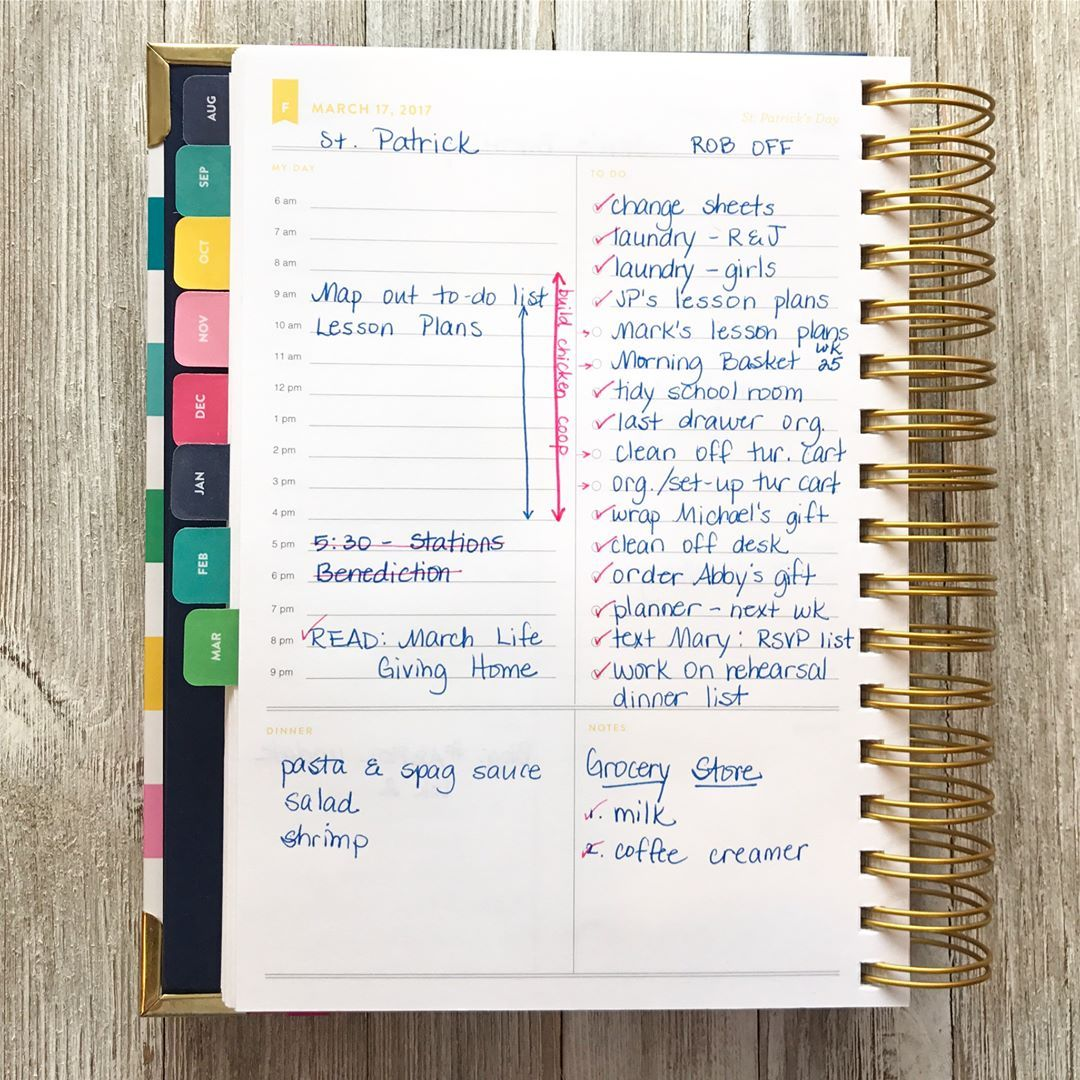 photograph about Simplified Planner Emily Ley named Coming up with with the Emily Ley Simplified Planner building