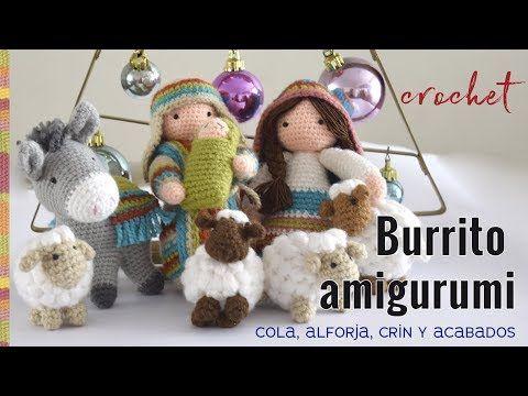 Tejiendoperu Crochet Amigurumis : Burrito sabanero amigurumi crochet parte tejiendo perú